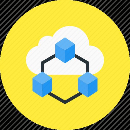 big, big data, data, database, grid, storage icon