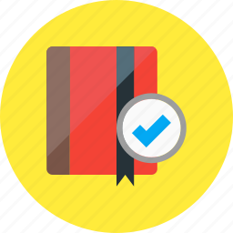 book, bookmark, bookmarks, document, education, service icon