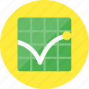 bounce, graph, rate, analytics, diagram, report, statistics icon