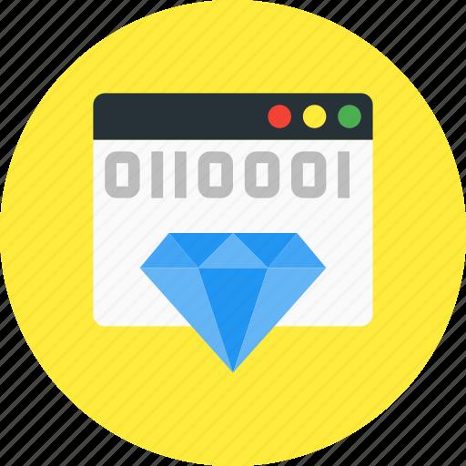 clean, code, coding, development, html, seo icon
