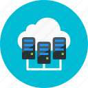 cloud, clouds, computing, data, database, storage, upload icon