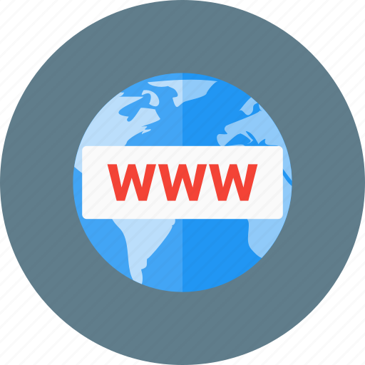 browser, domain, register, registration, www icon