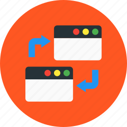 browser, pingback, seo, website, window icon
