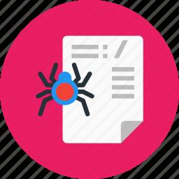 letter, robot, script, text, txt icon