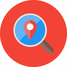 direction, location, map, place, seo icon