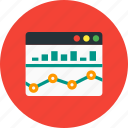 analysis, bar chart, chart, diagram, monitoring icon