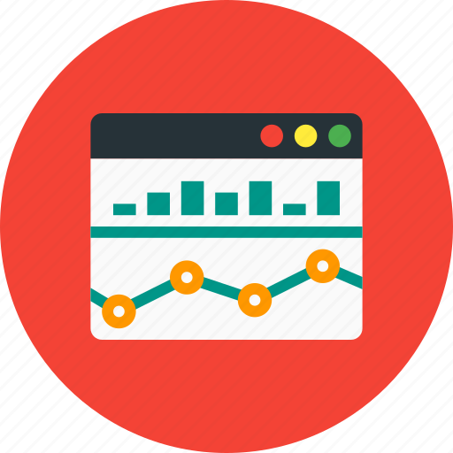analysis, bar chart, chart, diagram, monitoring icon