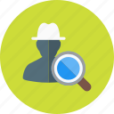 hat, seo, user, whitehat icon