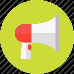 audio, marketing, megaphone, multimedia, play, sound, viral icon