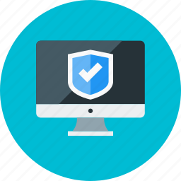anti virus, browser, protection, safety, secure, security, web icon