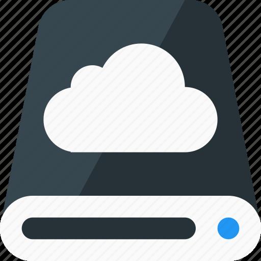 computing, data center, host, hosting, network, server, storage icon