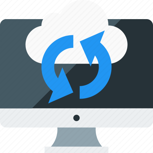 cloud, connect, monitor, refresh, sync, update icon