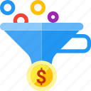 conversion, filter, optimization, funnel, leads, sales
