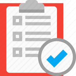 audit, checkmark, clipboard, list, success, tasks, todo icon