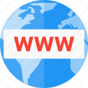 domain, registration, www icon