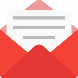 contact us, email, envelope, letter, mail, message, subscribe icon