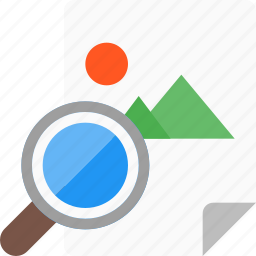 file, find, image, photos, search, seo icon