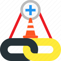 anchor, building, connect, hyperlink, link, link building icon