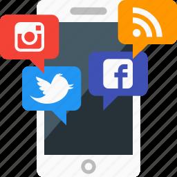 creative, idea, iphone, marketing, mobile, smart, smartphone icon