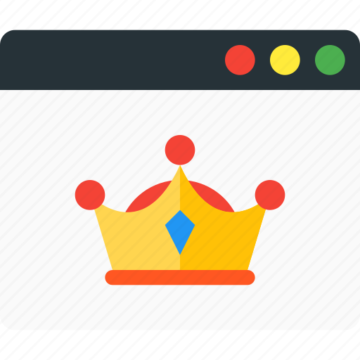 achievement, award, badge, crown, excellent, seller, top icon
