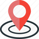 location, map, marker, optimization, place icon