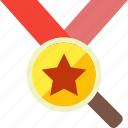 awards, champion, license, medal, reputation, trusted, win icon