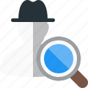 blackhat, hat, search, seo icon