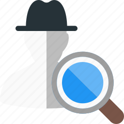 blackhat, hat, search, seo icon