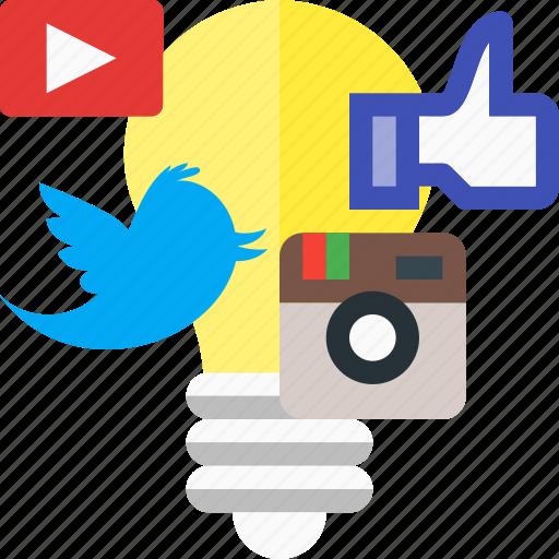 campaign, creative, creative campaign, idea, media, social icon