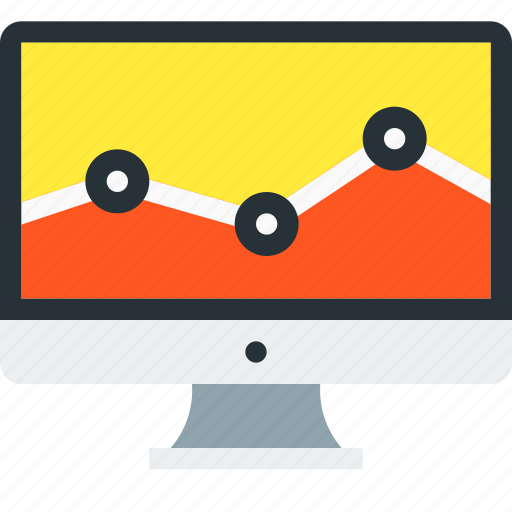 analytics, charts, diagram, monitoring, report, sales, statistics icon