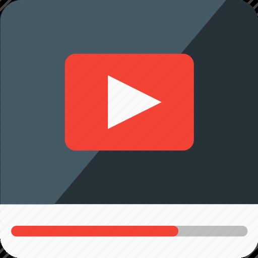 media, multimedia, pause, play, presentation, promotion, video icon