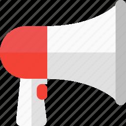 ads, advertising, loudspeaker, marketing, megaphone, multimedia, promotion icon