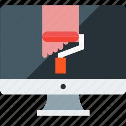 art, brush, design, interface, paint, web design icon