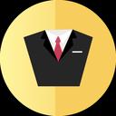 consult, suit, tuxedo icon
