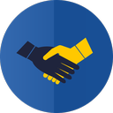 hands, handshake, partnership icon