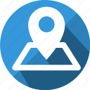 address, pin, location, map, direction, gps, place