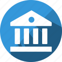 bank, business, credit, finance, money, office icon