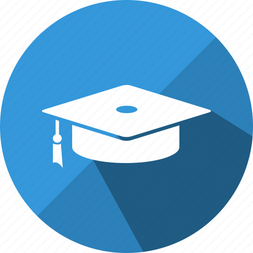 cap, degree, graduation, hat, school, study, university icon