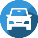 car, delivery, road, travel icon