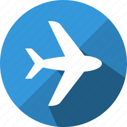 aeroplane, airport, flight, fly, jet, transport, travel icon