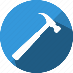 hammer, repair, tool, work icon