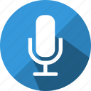 audio, mic, microphone, record, sound, volume icon