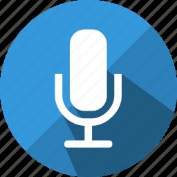 audio, mic, microphone, record, sound, volume icon