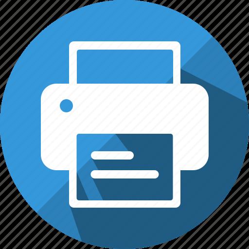 print, printer, publish icon