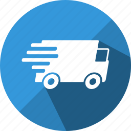 camion, delivery, fast, lorry, post, shipping icon