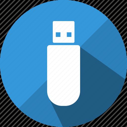 data, disk, drive, flash, memory, storage, usb icon
