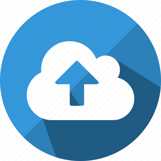 cloud, cloudy, direction, up, upload, uploading icon