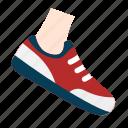 walk, walking, shoe, leg