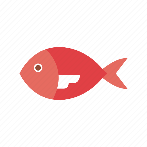 animal, aquatic, fish, fishing, food, salmon, seafood icon