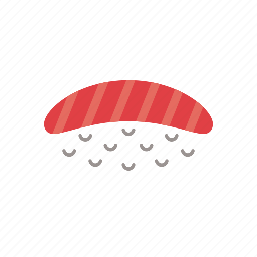 food, japanese, meal, rice, salmon, seafood, sushi icon